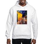 Cafe & Whippet Hooded Sweatshirt