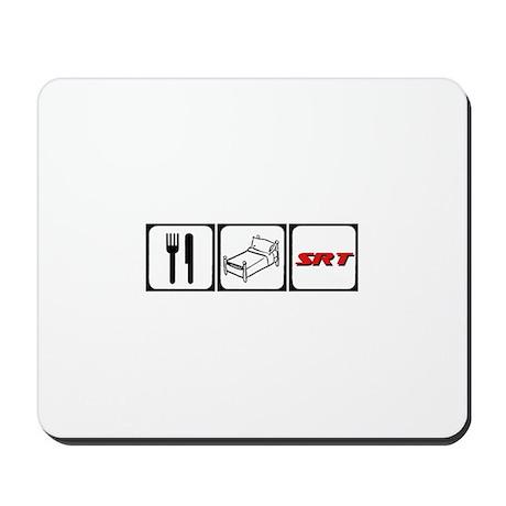 Eat Sleep SRT Mousepad
