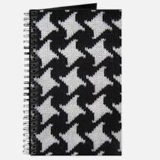 Houndstooth Check Wool Journal
