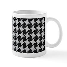 Houndstooth check wool Mugs