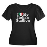 I Love My Italian Stallion Women's Plus Size Scoop