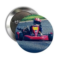 """Kart Racer Old Photo Style 2.25"""" Button"""