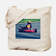 Kart Racer Old Photo Style Tote Bag
