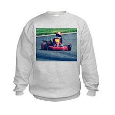 Kart Racer Old Photo Style Sweatshirt