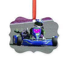 Kart Racer Inverted Color Ornament