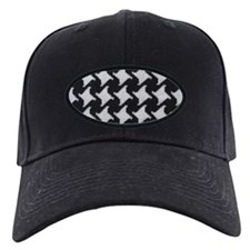 Houndstooth check wool Baseball Hat