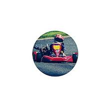 Kart Racer Old Photo Style Mini Button