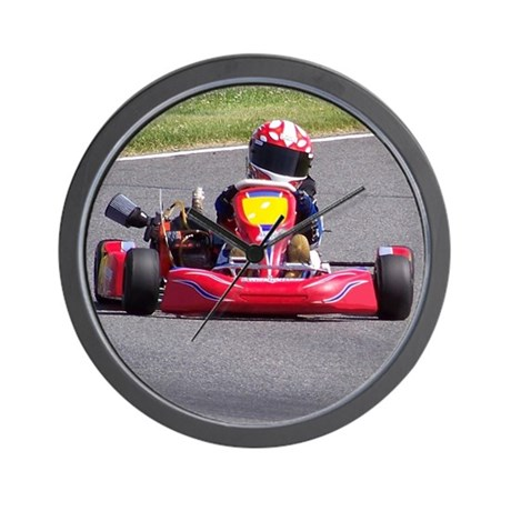 Kart Racer Wall Clock