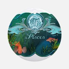 Pisces Ornament (Round)