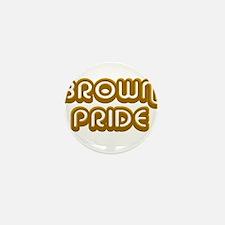 Brown Pride Mini Button