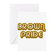 Brown Pride Greeting Cards (Pk of 10)