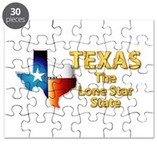 State - Texas - Lone Star State Puzzle
