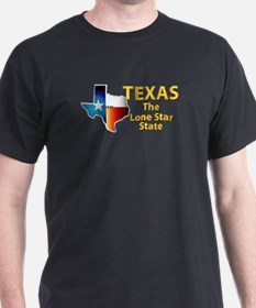 State - Texas - Lone Star State T-Shirt