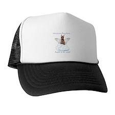 Min Pin Angel Trucker Hat
