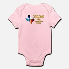 State - Texas - Lone Star State Infant Bodysuit