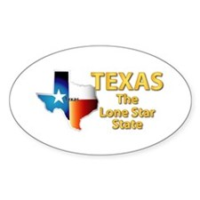 State - Texas - Lone Star State Decal