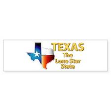 State - Texas - Lone Star State Bumper Bumper Sticker