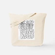 Soil Rocks Tote Bag