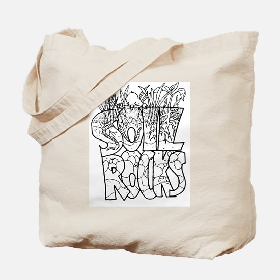Soil Rocks Tote Bag