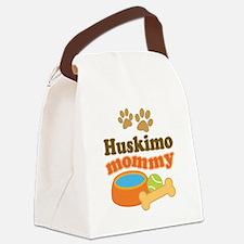 Huskimo mom Canvas Lunch Bag