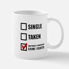 Crime Fighter Mugs