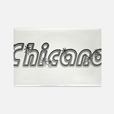 Chicano Groovalicious Rectangle Magnet