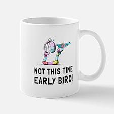 Early Bird Worm Mugs