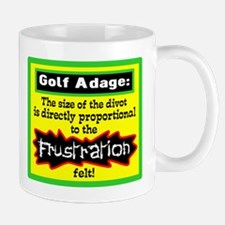 Size Of The Divot Mugs