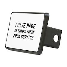 Human Scratch Hitch Cover