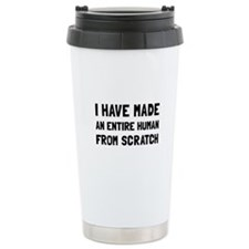 Human Scratch Travel Mug