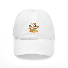 Maltichon mom Baseball Cap