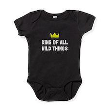 King Of Wild Things Baby Bodysuit