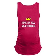 King Of Wild Things Maternity Tank Top