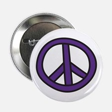 """Peace Sign 2.25"""" Button"""