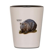 Common Wombat Shot Glass