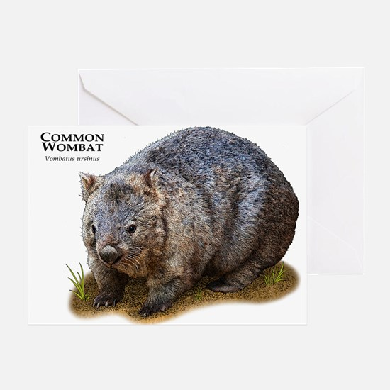 Common Wombat Greeting Card