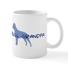Pit Bull Grandpa Mug