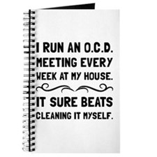 OCD Cleaning House Journal