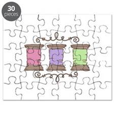 Sewing Thread Border Puzzle