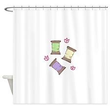 Thread Shower Curtain