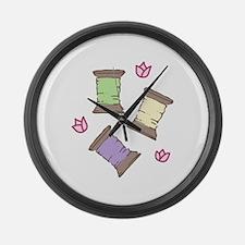 Thread Large Wall Clock
