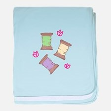 Thread baby blanket