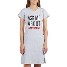 Economics - Ask Me About - Women's Nightshirt