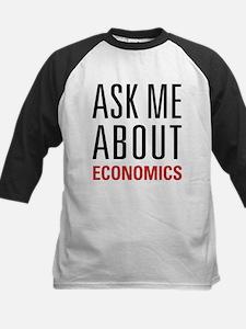Economics - Ask Me About - Kids Baseball Jersey