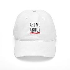 Economics - Ask Me About - Baseball Cap