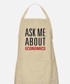 Economics - Ask Me About - Apron