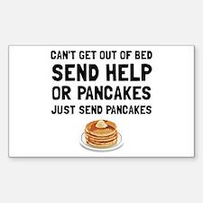 Send Pancakes Decal