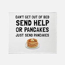 Send Pancakes Throw Blanket