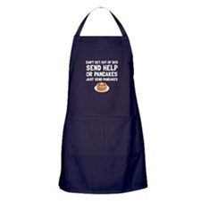 Send Pancakes Apron (dark)