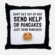 Send Pancakes Throw Pillow